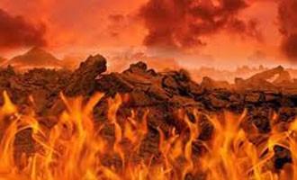آتش و سرب گداخته …
